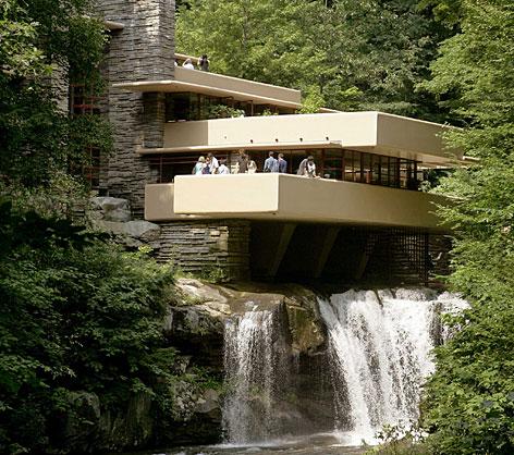 Frank Lloyd Wright's Falling Water