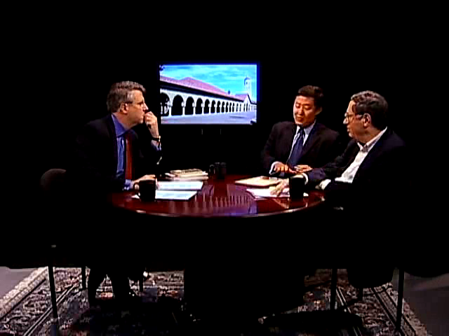 Peter Robinson interviews John Yoo & Richard_Epstein