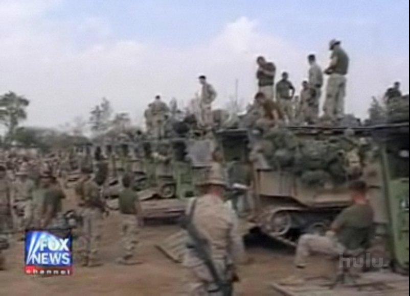US Marines preparing for strike on Fallujah